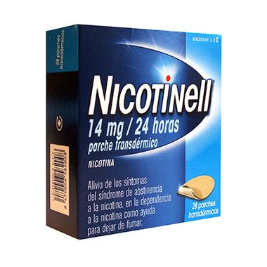 Imagen del producto NICOTINELL 14 MG/24H 28 PARCHES TRANSDÉRMICOS