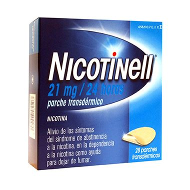 Imagen del producto NICOTINELL 21 MG/24H 28 PARCHES TRANSDÉRMICOS